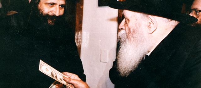 R' Elazar Mordechai Kenig & the Lubavitcher Rebbe
